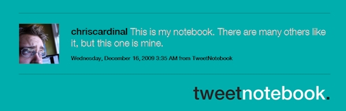 my_tweetbook